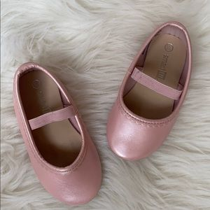 Smart Fit pearl pink ballet shoes size 5 1/2.
